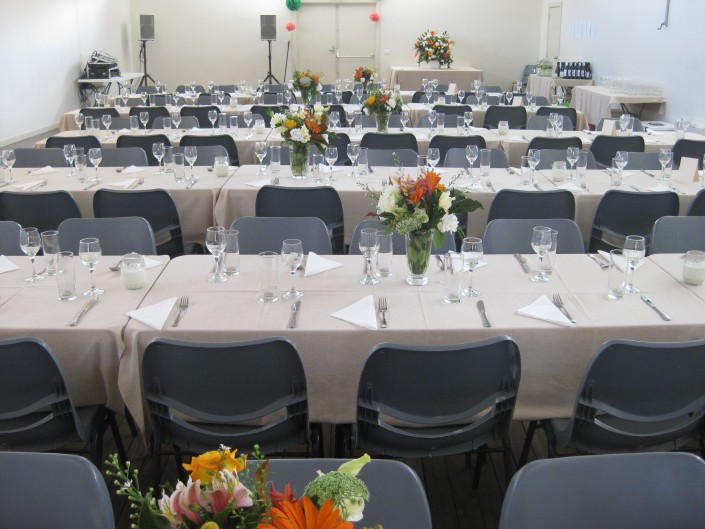 Wedding catering at Hall Village